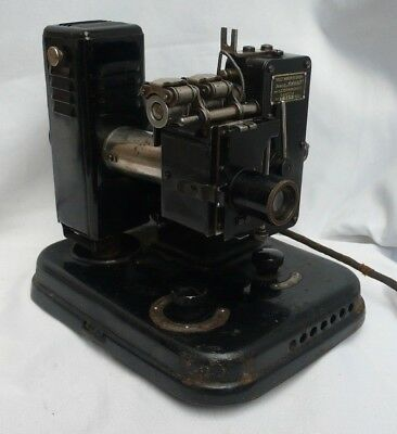 WW2 1940's Kinap Odessa UP-2 Vintage USSR Russian Lomo Film Projector and Case