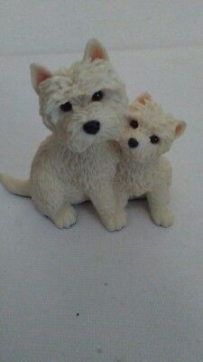 Sherratt and Simpson West Highland White Terrier Westie Mom and Pup...Excellent!