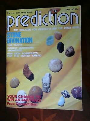 "Prediction - vintage magazine for ""astrology and the inner mind"" 1987"
