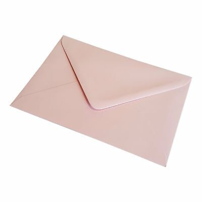 Baby Pink Greeting Card Envelopes Invitations Crafts C6 C7 DL Square