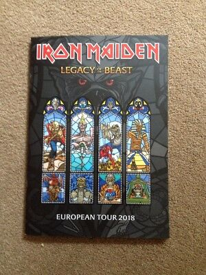 Iron Maiden Legacy Of The Beast Tour 2018