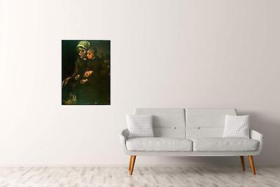 ArtPlaza Van Gogh Vincent Child On Lap Pannello Decorativo Legno Multicolore 60x