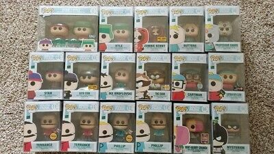 FUNKO POP lot of 17 complete set of south park