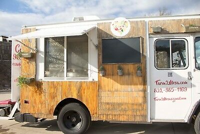 Food truck for sale...1988 Step van Chevy P30,  automatic transmission