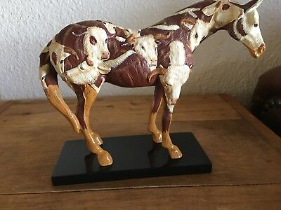 """Cowpony"" The Trail of Painted Ponies Artist Lori Musil - Mint Condition"