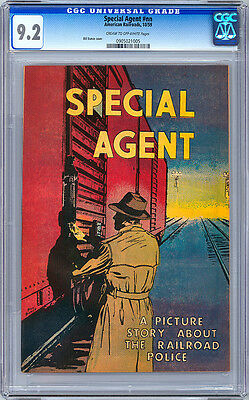 Special Agent #nn  <> Cgc 9.2 Nm <> Rare American Rr One-Shot Promo <> 1959