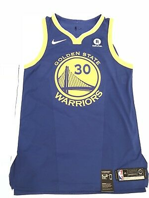 the best attitude 54e36 9914b AUTHENTIC NIKE GOLDEN State Warriors Stephen Curry Jersey sz 48/L NWT