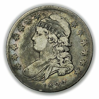1833 Capped Bust Half Dollar, Nice, Large Silver Coin [1543.073]