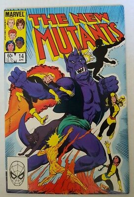 Marvel The New Mutants #14 1st Appearance of Illyana Rasputin as Magik! NM-