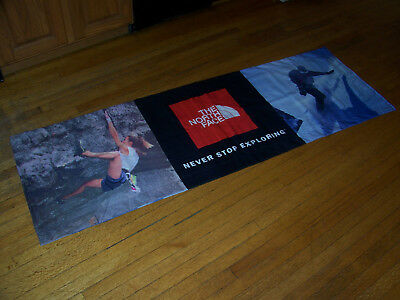 North Face Cloth Store Banner Sign