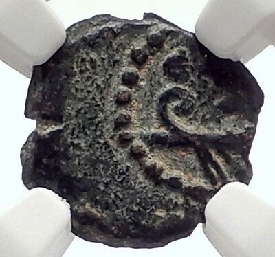 HEROD ARCHELAUS 4BC Biblical JERUSALEM Jewish KING Ancient Greek Coin NGC i70973