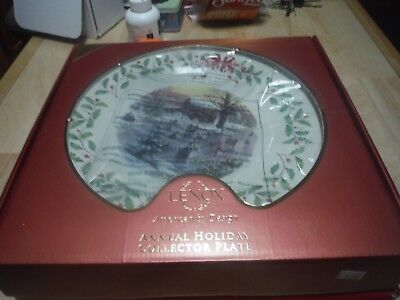 Lenox HOLIDAY ANNUAL CHRISTMAS PLATE 2010 Holiday Plate 20th in series