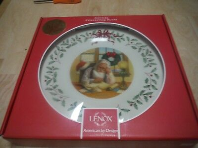 Lenox HOLIDAY ANNUAL CHRISTMAS PLATE 2016 Holiday Plate 26th in series