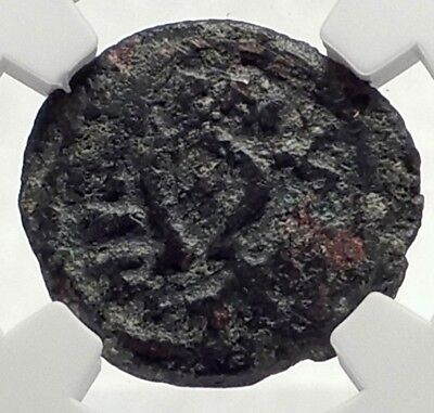 HEROD I the GREAT Jerusalem Authentic Ancient BIBLICAL Greek Coin NGC i70976