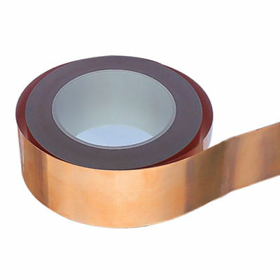 Guitar Pickup Copper Foil 6mm x 30m Shielding Screening Tape Conductive Adhesive