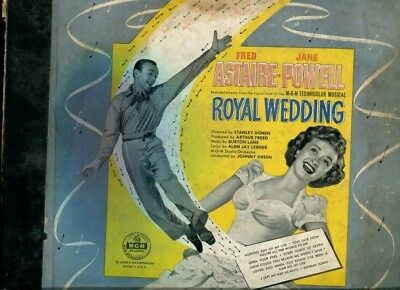 Fred Astaire & Jane Powell - Royal Wedding, 4 records album