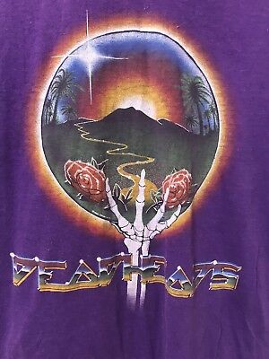 Vintage 1983 Grateful Dead Deadheads Shirt Jerry Garcia 80's Size Large Band Tee
