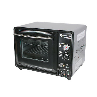 Gas Ofen Mini Backofen Pizzablech Miniofen Grill Toaster Camping Gaskocher BWare