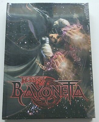 The Eyes of Bayonetta | Hardcover Artbook 224-Pages Book NEU NEW PS4 Switch Xbox