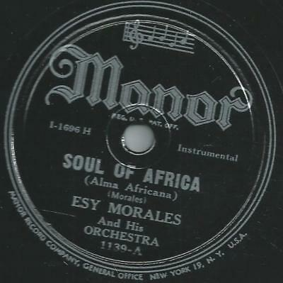 Esy Morales and his Orchestra - Soul of Africa / You're gone