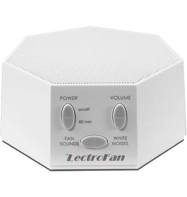 LectroFan Sound Therapy Machine in White (CASE INCLUDED) *FREE SHIPPING*