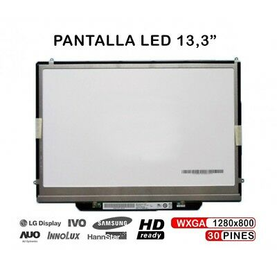 "Pantalla Para Apple Macbook Air 13.3"" A1237 Lp133Wx2 Tl Display"