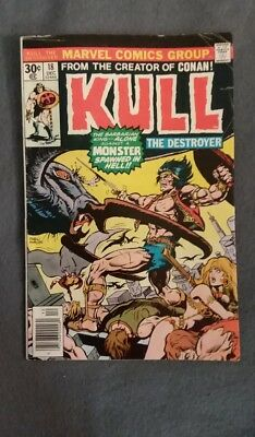 Marvel Comics Kull the Conqueror #18 (1973) VG-FN See photos Free Bag/Board