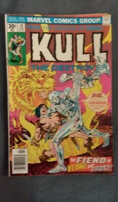Marvel Comics Kull the Conqueror #19 (1973) VG-FN See photos Free Bag/Board