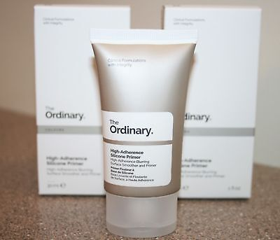 2 x THE ORDINARY High-Adherence Silicone Blurring Primer 1 oz full size = 2 oz
