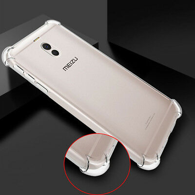 For Meizu M6 Note M3S M5 15 Lite Plus Shockproof Clear Back Soft TPU Slim Cover