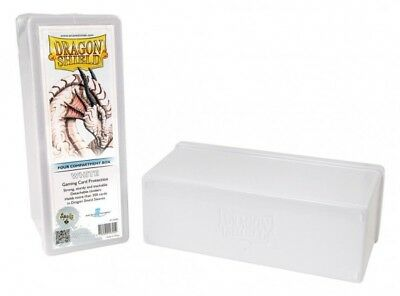 Dragon Shield - 4 Compartment Storage Box White - Karten Box
