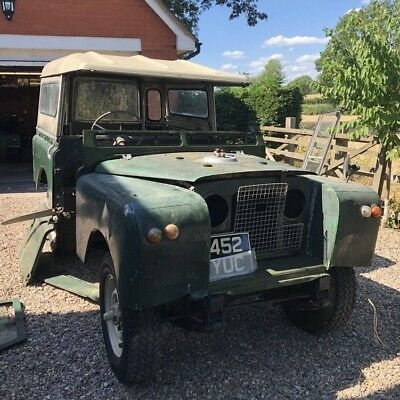 Land Rover Series 2 1960 project Petrol (Loosely reassembled for photo)