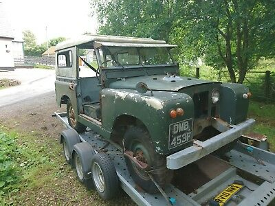 1968 Series 2a Land Rover Project