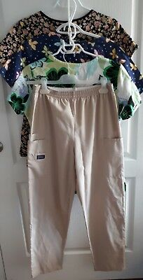 Womens Scrubs Lots - Size Small / Med - 7 tops, 2 pants ~ Cherokee, Denver Hayes