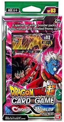 Dragon Ball Super Trading Card Series 3 Cross Worlds Special Pack