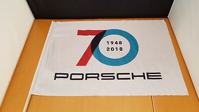 Porsche 70 Years Anniversary fan flag