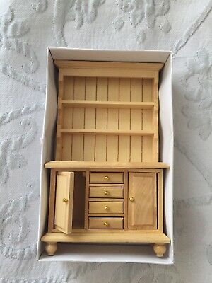 1:12 Scale Dolls House Miniatures Pine Dresser