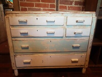 1950s chest of drawers shabby chic