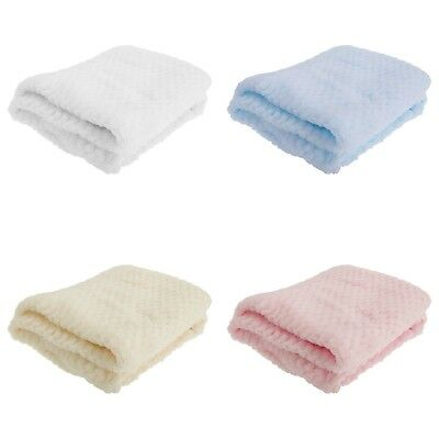 NEW Baby Town - Baby Girls and Boys Waffle Blanket & Muslin Cloth Sets Gift Kids