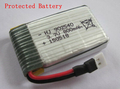 Syma X5C V391 3.7v 800mAh RC Quadcopter Part Lipo Protected Battery & Charger