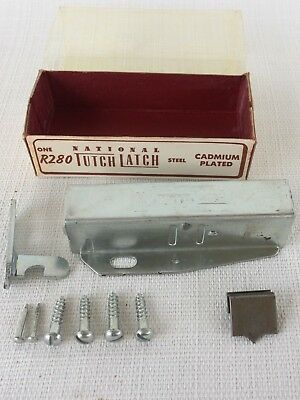 NOS VTG R280 Tutch-Latch Push-to-Close Grabber Catch RV Boat Cabinet  Hardware