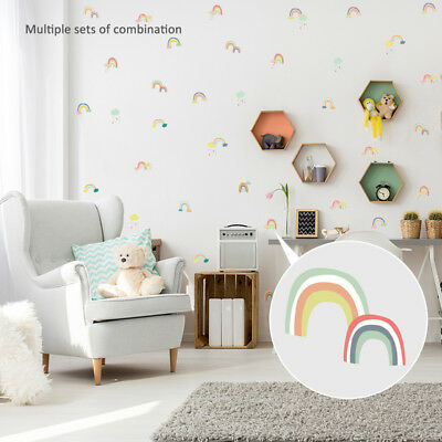 Cloud Rainbow Wall Stickers Children's Bedroom Nursery Sticker Decal Decoration