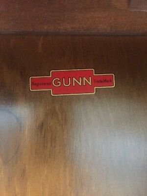 Good Oak Four-Tier Lawyer's/barrister's Sectional Bookcase By Gunn & Co