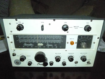 Zeus Climaster 6 Meter, Transmitter Model 331 by Clegg w/ power supply