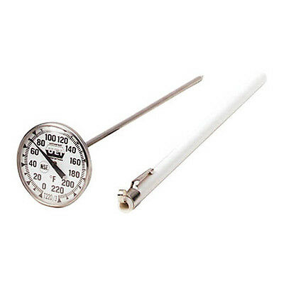 UEi T220/3 1 3/4in Pocket Dial Thermometer, Watertight