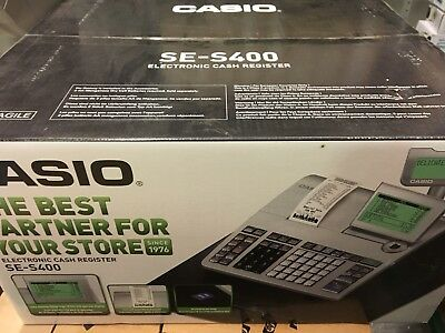 New Casio Se-S400 Ses400 Se S400 Cash Register Boxed New