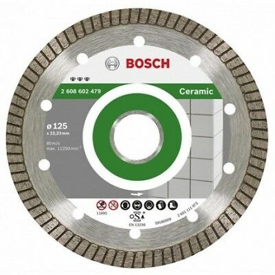 Disque diamant BOSCH Pro 2608602479 Ø 125 mm Best Ceramic Extraclean Turbo