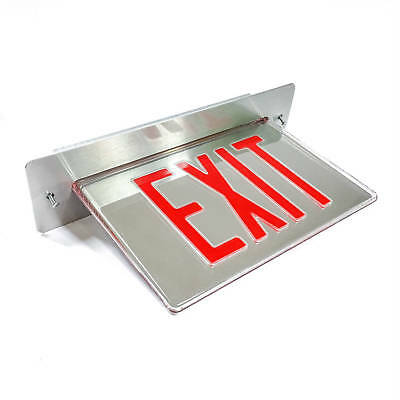 Philips T45VL2RM LED Exit Sign, Red. 120/277VAC 60Hz
