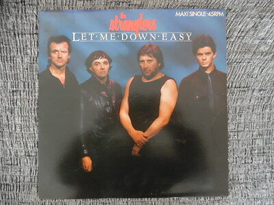 "<1030-AB> 12"" Maxi: The Stranglers - Let Me Down Easy"