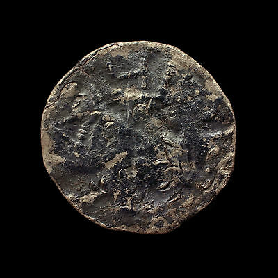 Unknown 10th-11th Century Blundered Retrograde Denier Scandinavian Viking Penny!